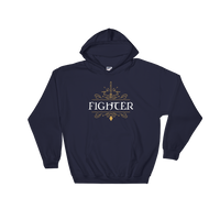 Fighter Hooded Sweatshirt - Dungeon Armory - Tabletop RPG Shirt Dungeons & Dragons T-Shirt Pathfinder RPG T-Shirt