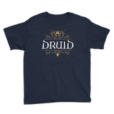 Druid Youth Short Sleeve T-Shirt - Dungeon Armory - Tabletop RPG Shirt Dungeons & Dragons T-Shirt Pathfinder RPG T-Shirt