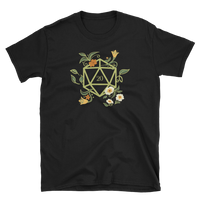 Dungeons and Dragons Shirt - Druid's D20 Dice Unisex RPG Shirt - DnD Shirts Dungeon Armory