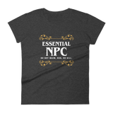 Dungeons and Dragons Shirt - Essential NPC Women's RPG Shirt - DnD Shirts Dungeon Armory
