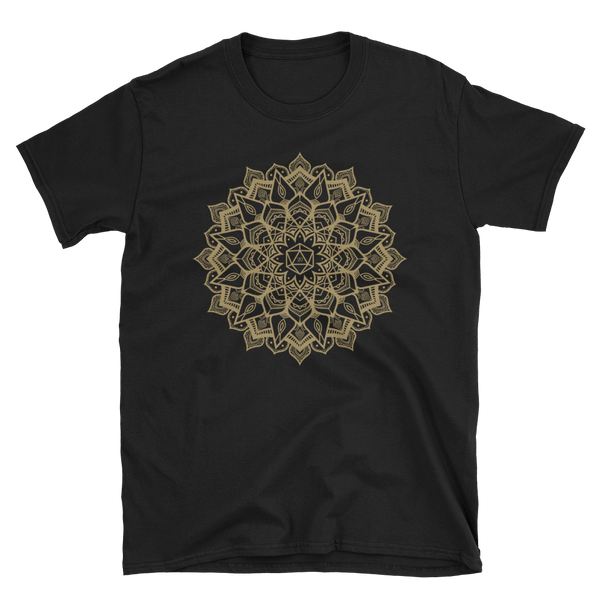 D20 Critical Hit Mandala Unisex RPG Shirt - Dungeon Armory