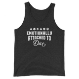 Emotionally Attached to Dice Unisex RPG Tank Top