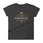 Barbarian Emblem Women's RPG Shirt - Dungeon Armory - Tabletop RPG Shirt Dungeons & Dragons T-Shirt Pathfinder RPG T-Shirt