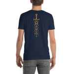 Dungeons and Dragons Shirt - Gold Dice Sword RPG Shirt - Custom Listing for Nick - DnD Shirts Dungeon Armory
