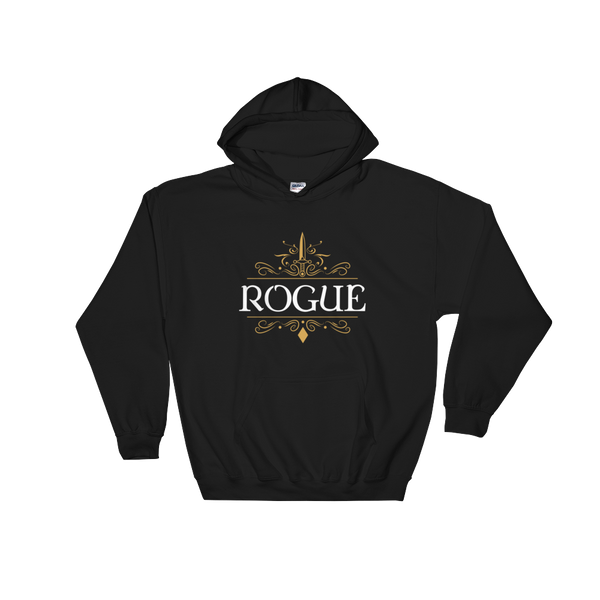 Rogue Hooded Sweatshirt - Dungeon Armory - Tabletop RPG Shirt Dungeons & Dragons T-Shirt Pathfinder RPG T-Shirt
