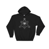 Dragon with Polyhedral Dice Set v2 RPG Hoodie - Dungeon Armory - Tabletop RPG Shirt Dungeons & Dragons T-Shirt Pathfinder RPG T-Shirt