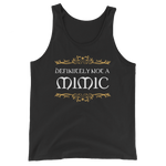 Definitely Not a Mimic Unisex Tank Top - Dungeon Armory - Tabletop RPG Shirt Dungeons & Dragons T-Shirt Pathfinder RPG T-Shirt