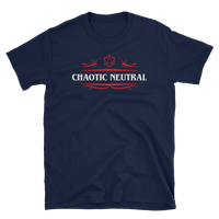 Chaotic Neutral Alignment Unisex RPG Shirt - Dungeon Armory - Tabletop RPG Shirt Dungeons & Dragons T-Shirt Pathfinder RPG T-Shirt
