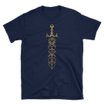 Minimalist Dice Sword Magic Item Unisex RPG Shirt - Dungeon Armory