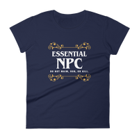 Essential NPC Women's RPG Shirt - Dungeon Armory - Tabletop RPG Shirt Dungeons & Dragons T-Shirt Pathfinder RPG T-Shirt