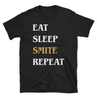 Dungeons and Dragons Shirt - Eat Sleep Smite Repeat Paladin Unisex RPG Shirt - DnD Shirts Dungeon Armory