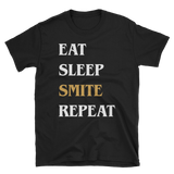 Eat Sleep Smite Repeat Paladin Unisex RPG Shirt - Dungeon Armory