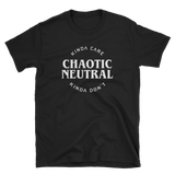 Chaotic Neutral Kinda Care Kinda Don't Unisex RPG Shirt - Dungeon Armory