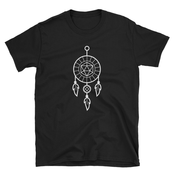 Bohemian Dreamcatcher Polyhedral D20 Dice - Dungeon Armory - Tabletop RPG Shirt Dungeons & Dragons T-Shirt Pathfinder RPG T-Shirt