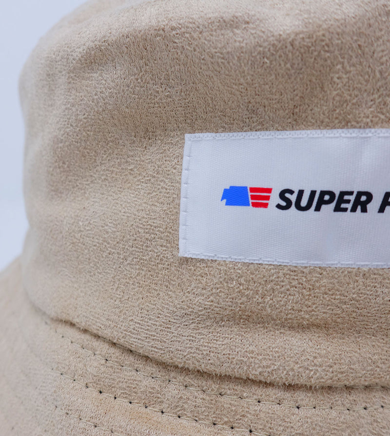 Suede Bucket - Tan