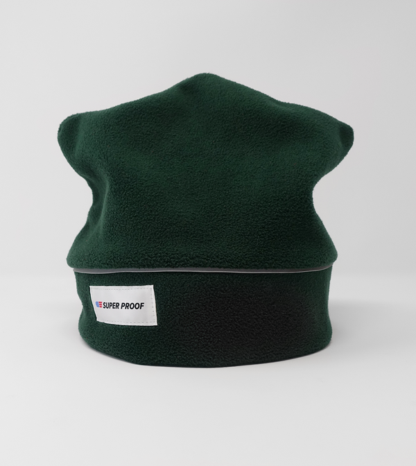 Fleece Beanie - Green