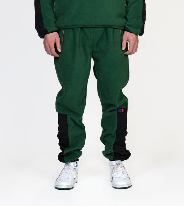 Fleece Track Pant - Green