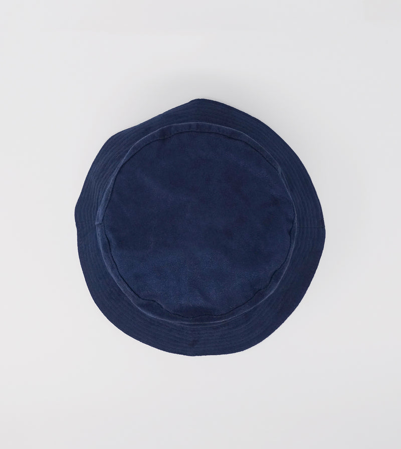 Suede Bucket - Navy