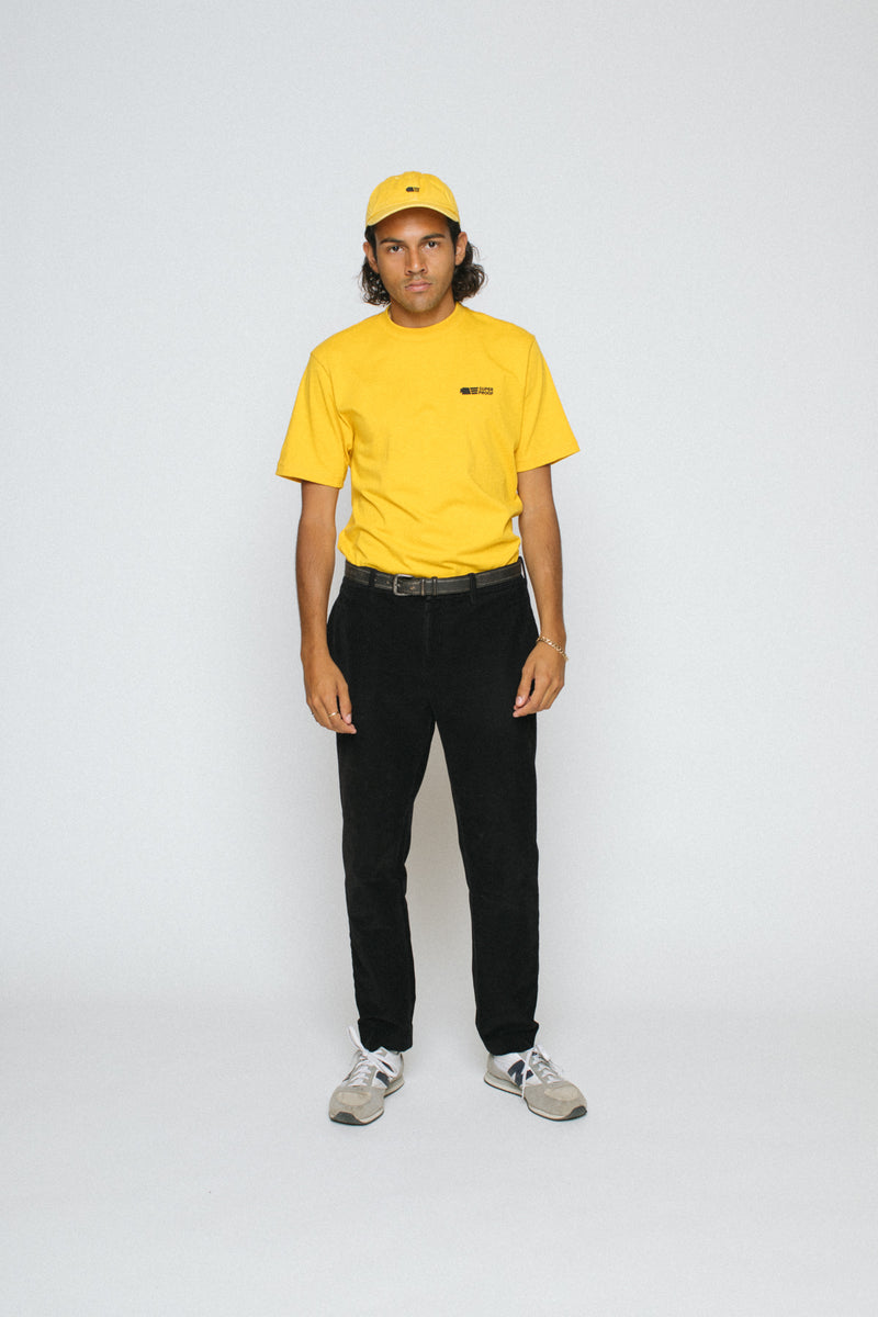 Staple Tee - Yellow