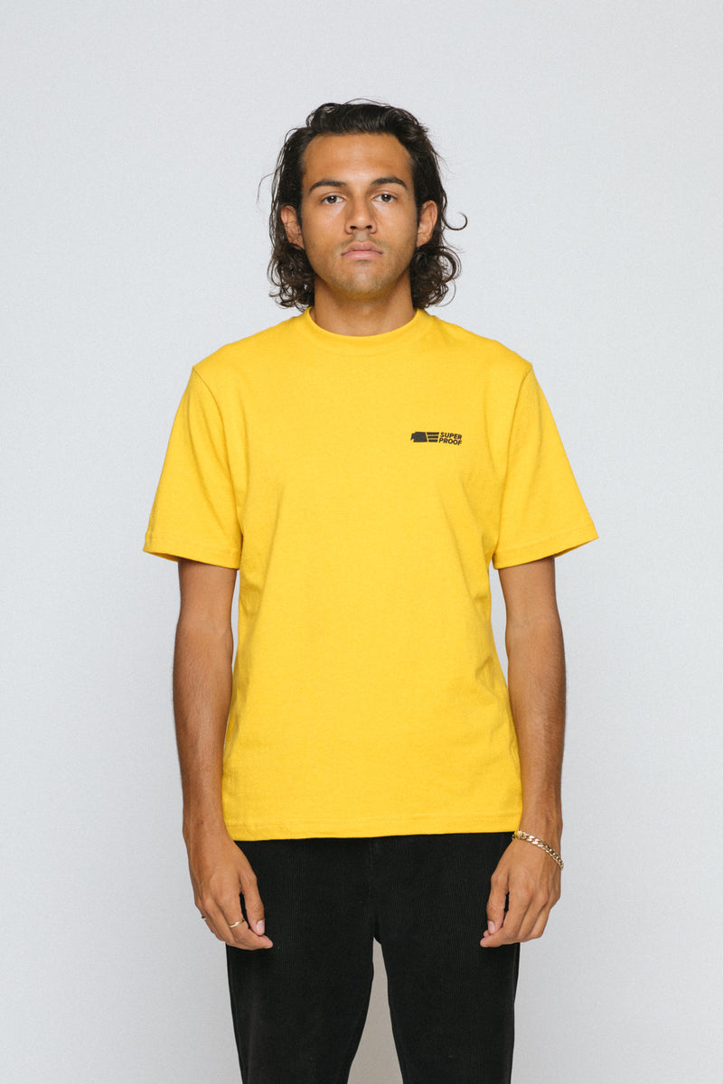 superproof staple tee yellow