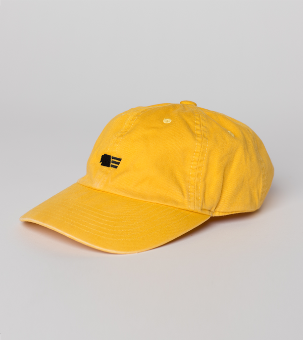 Unstructured 6 Panel Cap - Yellow