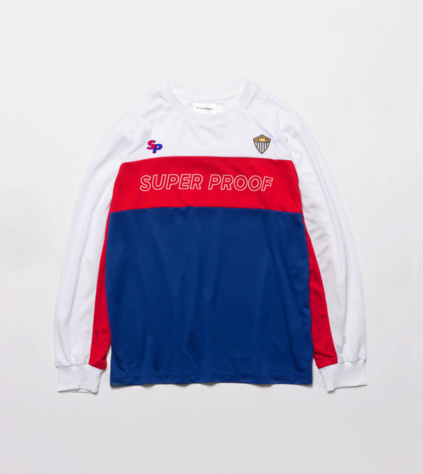 Moto Jersey LS - Red/Blue