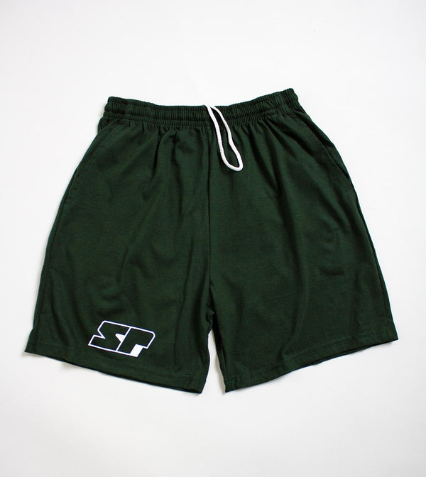 Athletic Shorts - Forest Green