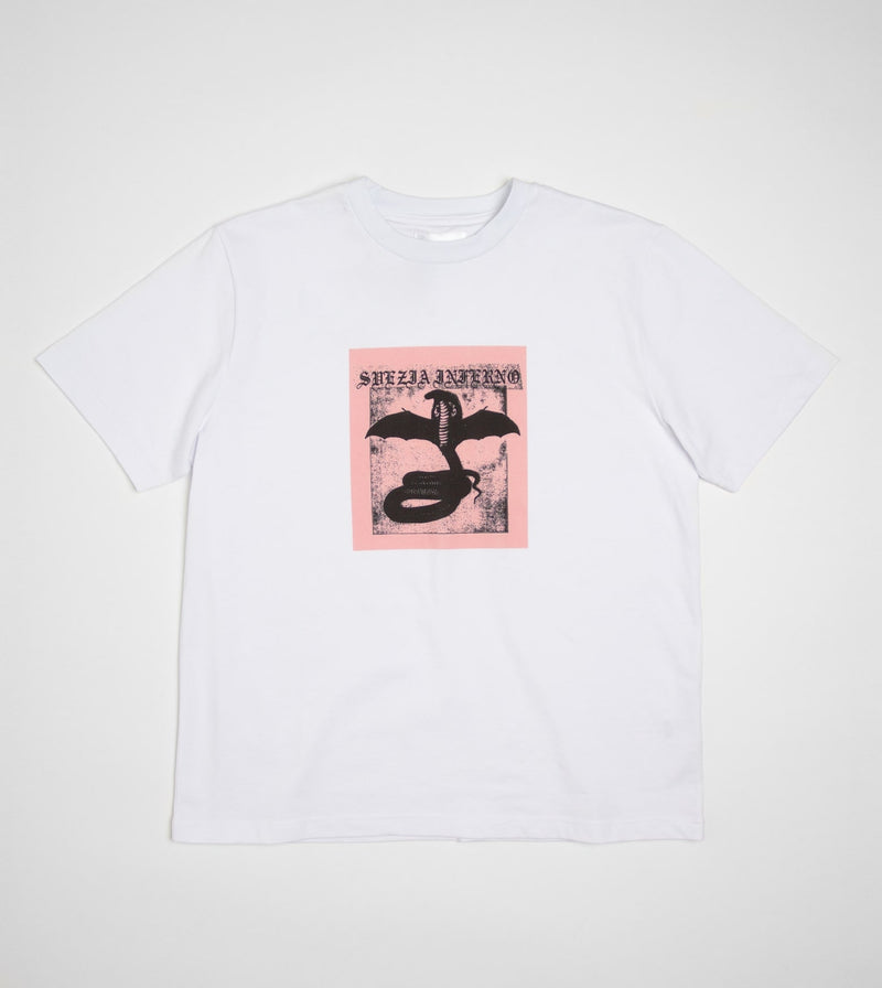 Svezia Inferno Limited Edition Tee - White