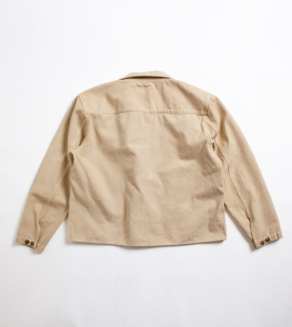Chore Coat - Coffee Dyed