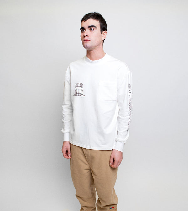 Softwear Moc Neck LS - Off White