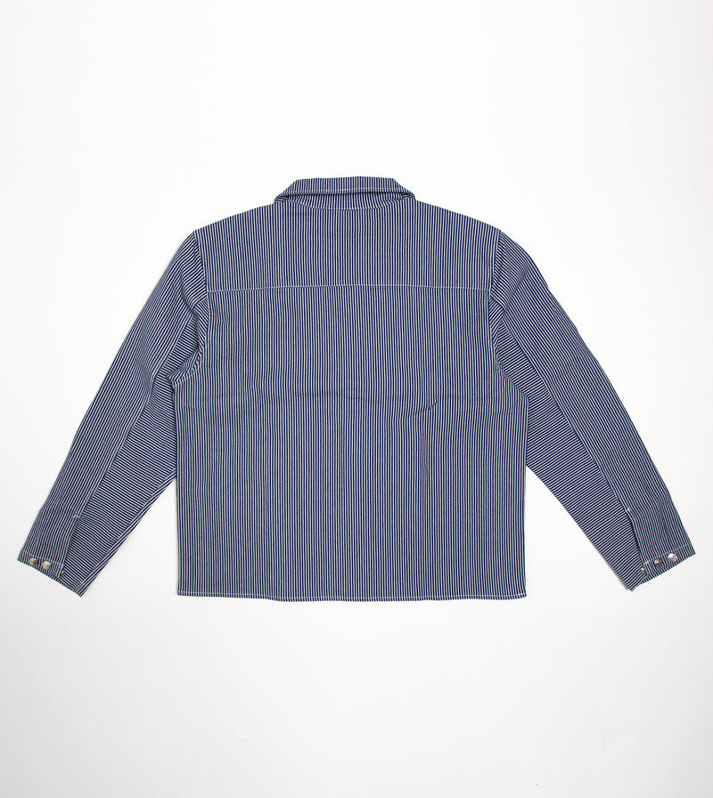 canvas worker jacket back