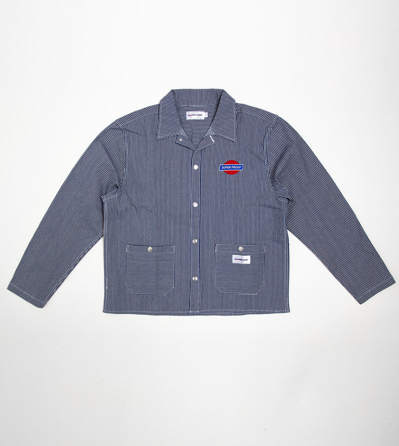 canvas worker jacket front