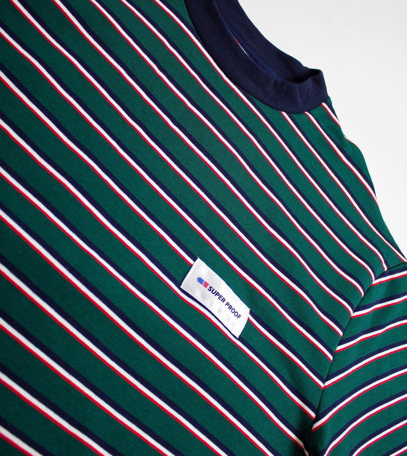 Stripe Tee - Label closeup