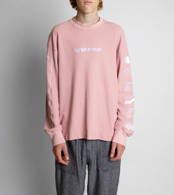 Waffle Thermal LS - Salmon