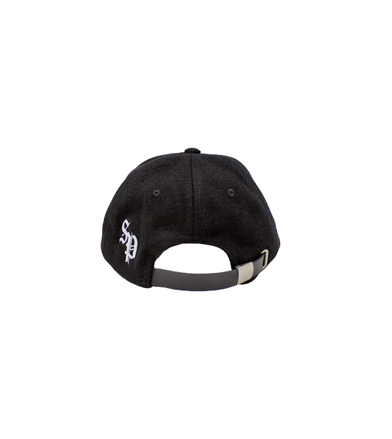 Wool Baseball Cap - Black