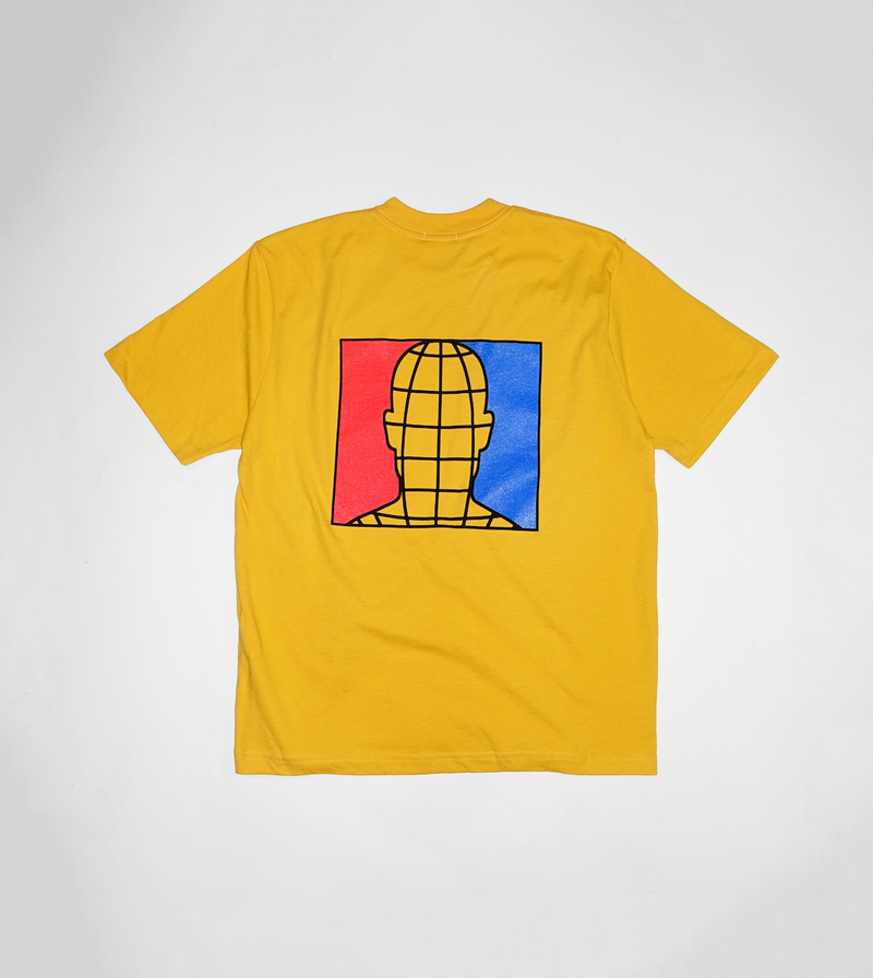 Limited Edition Staple Graphic Tee - Yellow