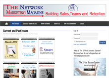 The Network Marketing Magazine Monthly Subscription  Auto renew