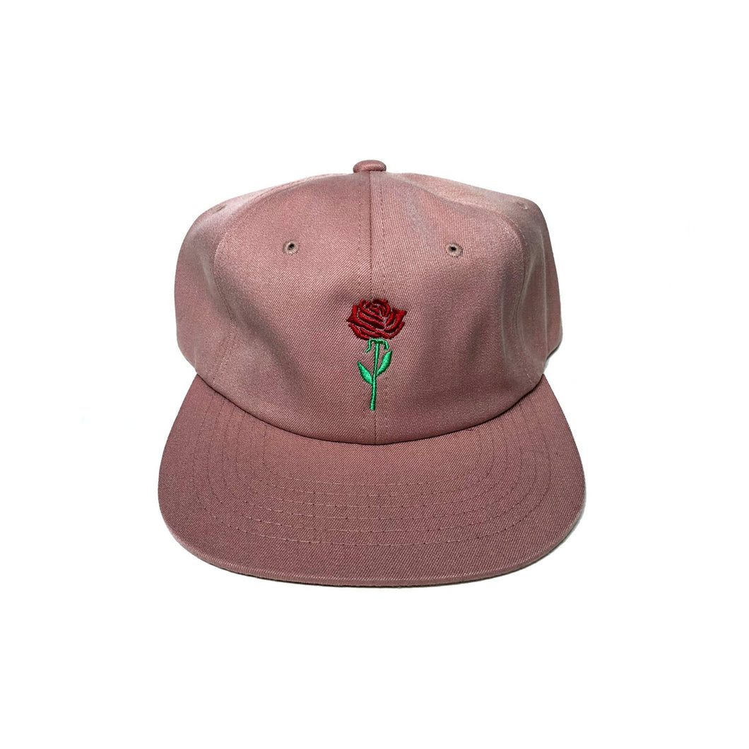 FURTHER BRAND PANEL ROSE CAP