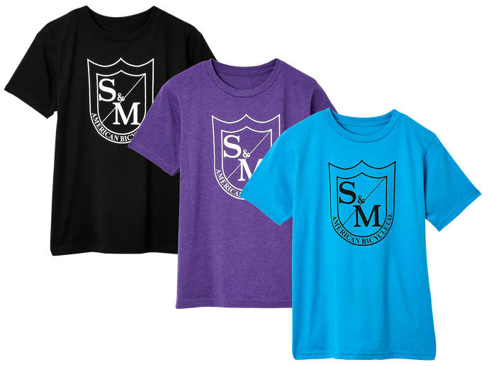 S&M BIG SHIELD KIDS TEE