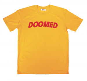 DOOMED ARCHIE TEE YELLOW