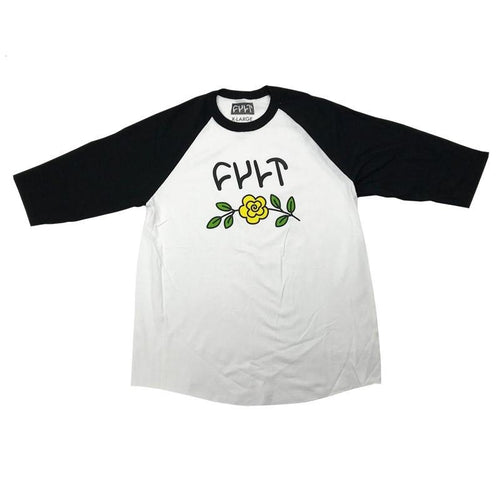 CULT IN BLOOM 3/4 TEE