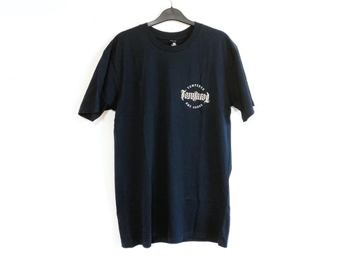 TEMPERED BMX GOODS TEE NAVY