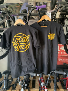 LOCAL THROWBACK TEE BLACK