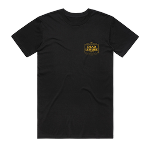 DEAD LEISURE GOOD TIMES TEE BLACK