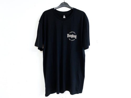 TEMPERED BMX GOODS TEE BLACK