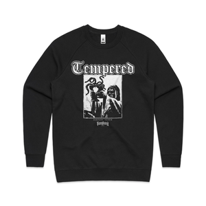 TEMPERED SERPENT LOGO CREW