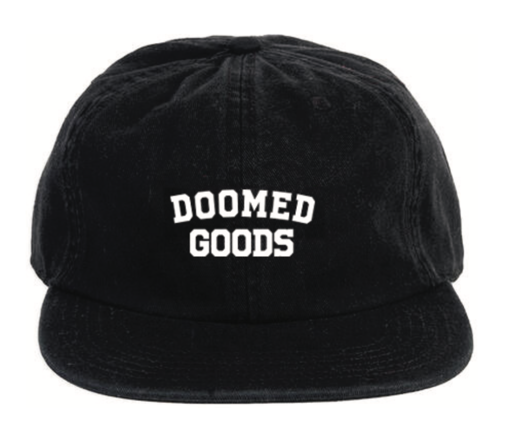 DOOMED GOODS 6 PANEL HAT