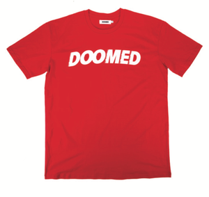 DOOMED ARCHIE TEE RED