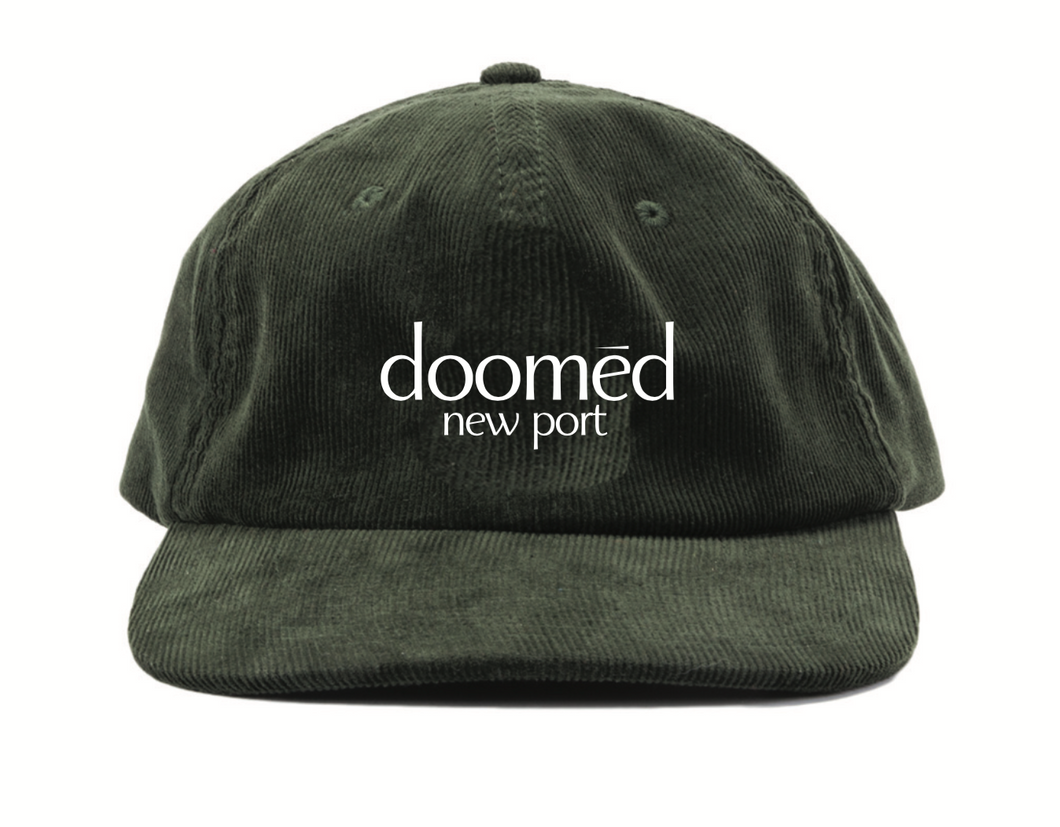 Doomed New Port Cord 6 Panel Hat