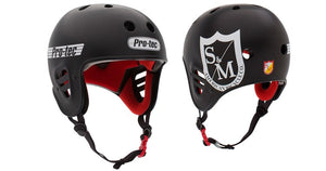 PROTEC X S&M FULL CUT HELMET BLACK